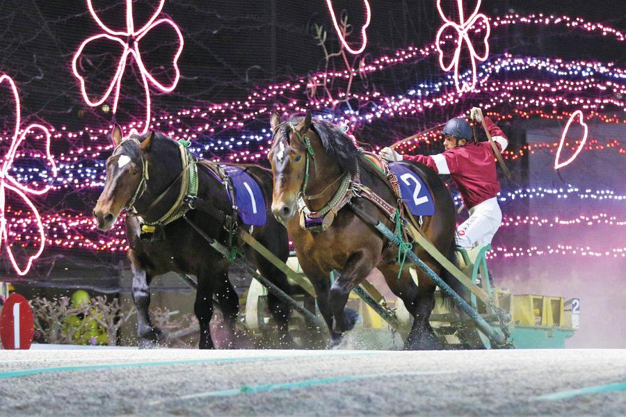 Banei horse racing